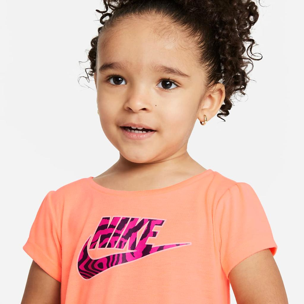 Nike Baby (12-24M) Printed Top and Leggings Set 16H498-A0I
