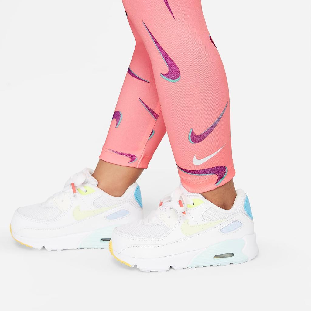 Nike Baby (12-24M) Swoosh Top and Leggings Set 16H503-A0G