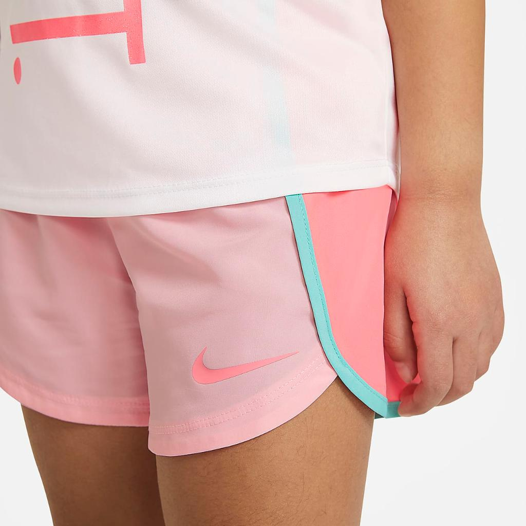 Nike Dri-FIT Little Kids' T-Shirt and Shorts Set 36H784-A6A