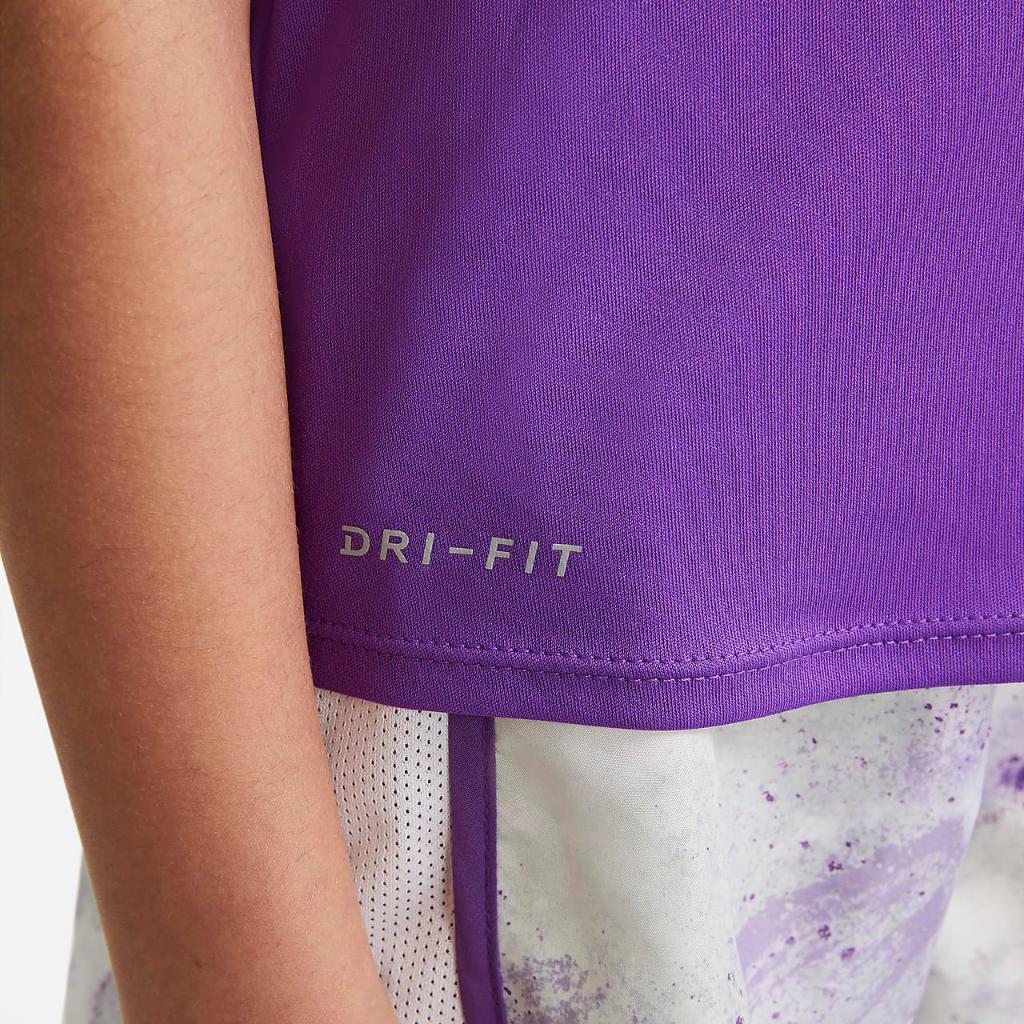 Nike Dri-FIT Little Kids' Tie-Dye T-Shirt and Shorts Set 36H816-P0T