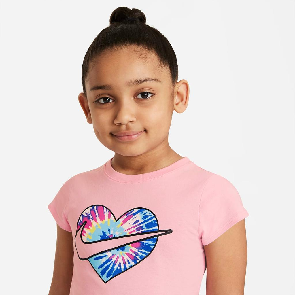 Nike Little Kids' T-Shirt and Shorts Set 36H967-023