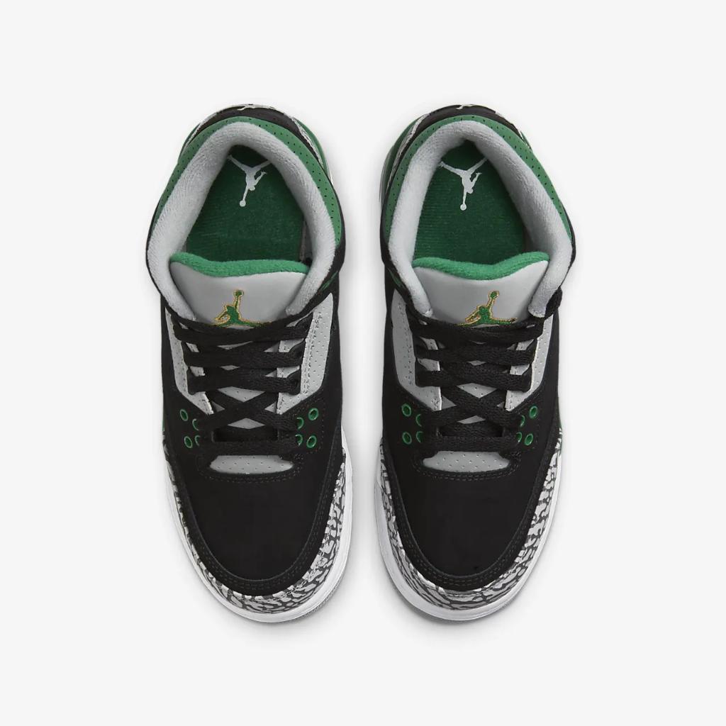 Air Jordan 3 Retro Big Kids' Shoes 398614-030