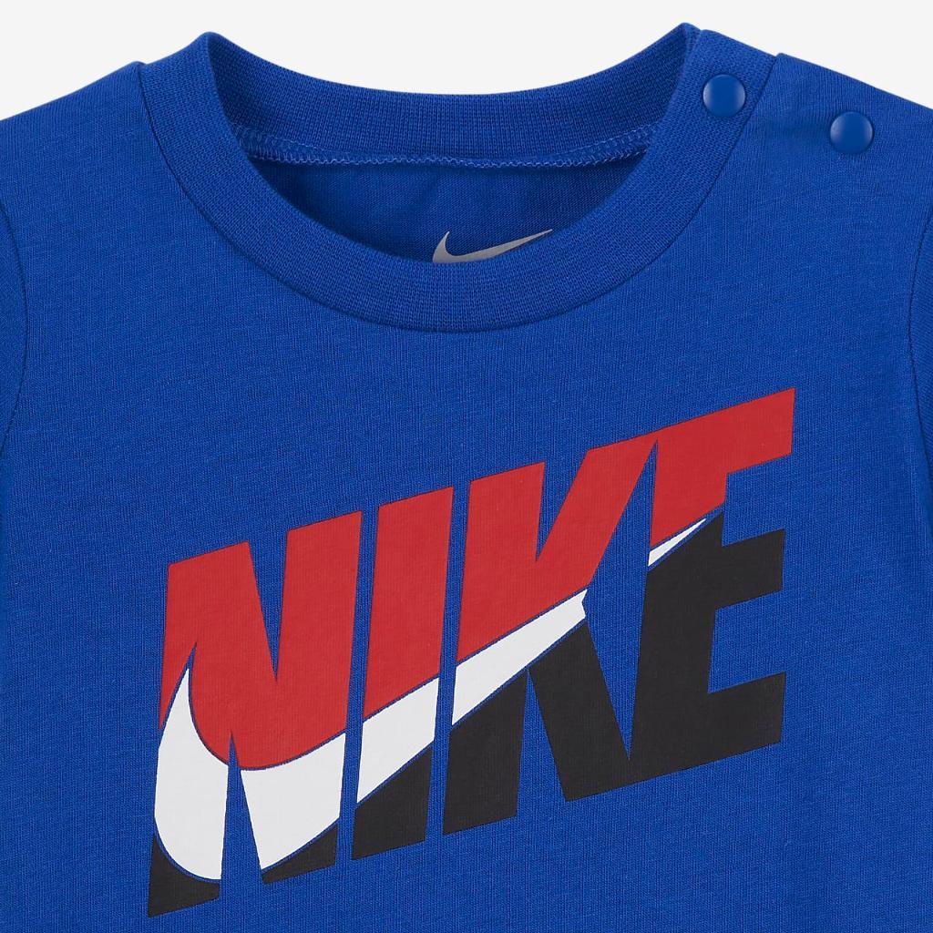 Nike Baby (0-9M) Romper 56H547-U89