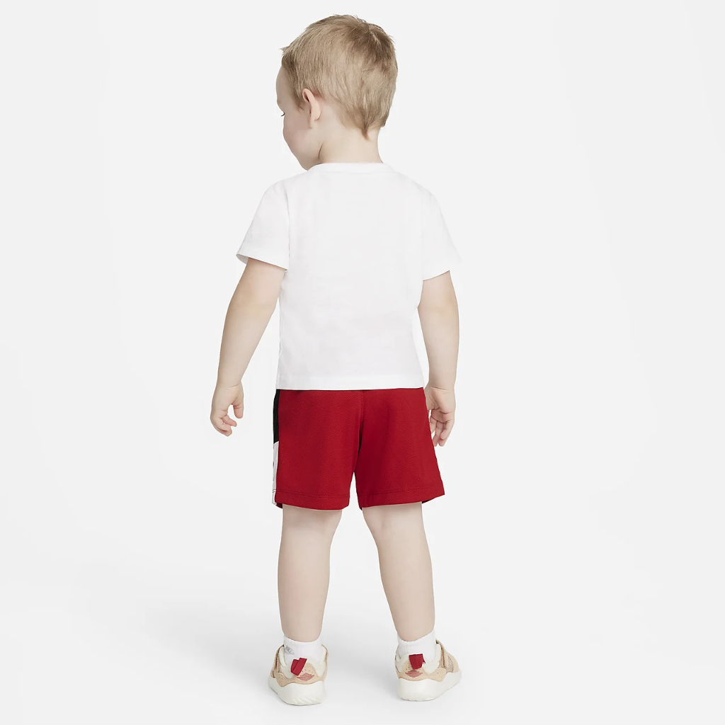 Jordan Jumpman Baby (12-24M) T-Shirt and Shorts Set 65A390-R78