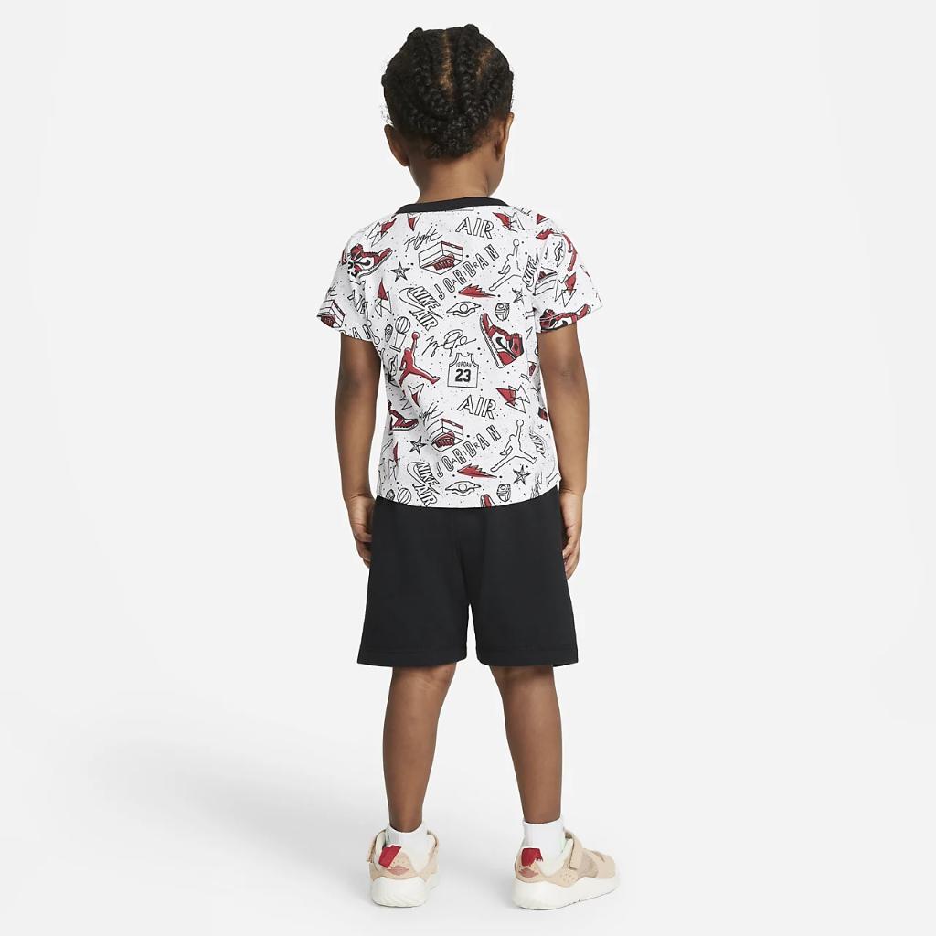 Jordan Baby (12-24M) T-Shirt and Shorts Set 65A398-023