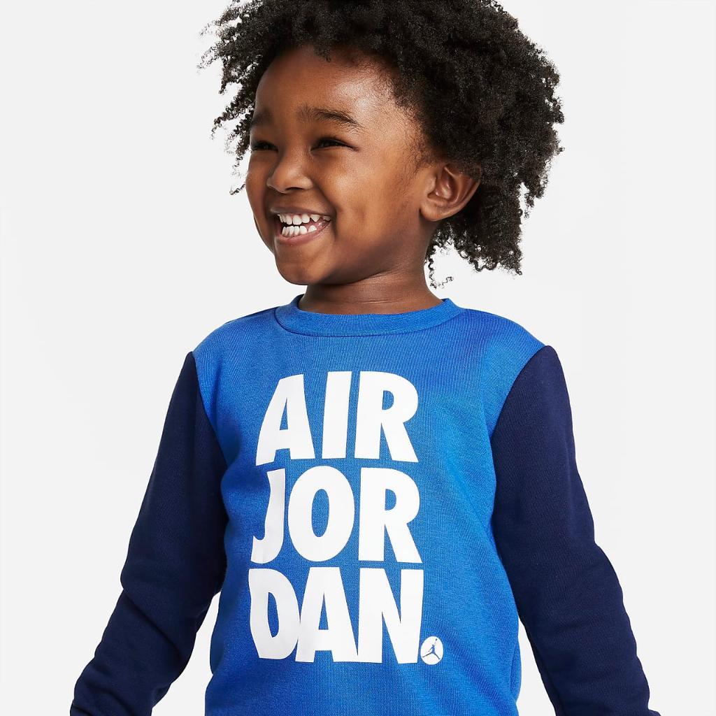 Jordan Jumpman Air Toddler Crew and Pants Set 75A356-U9J