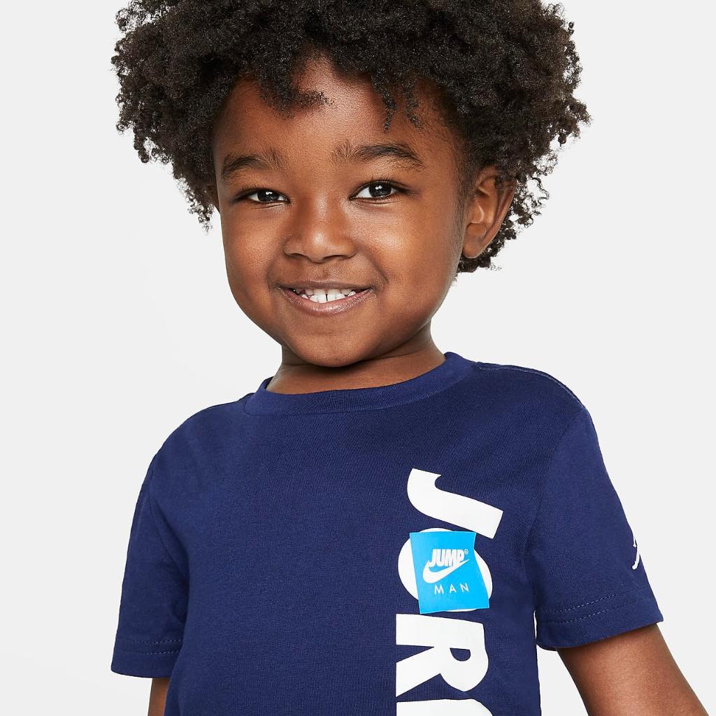 Jordan Jumpman Toddler T-Shirt and Shorts Set 75A357-GEH