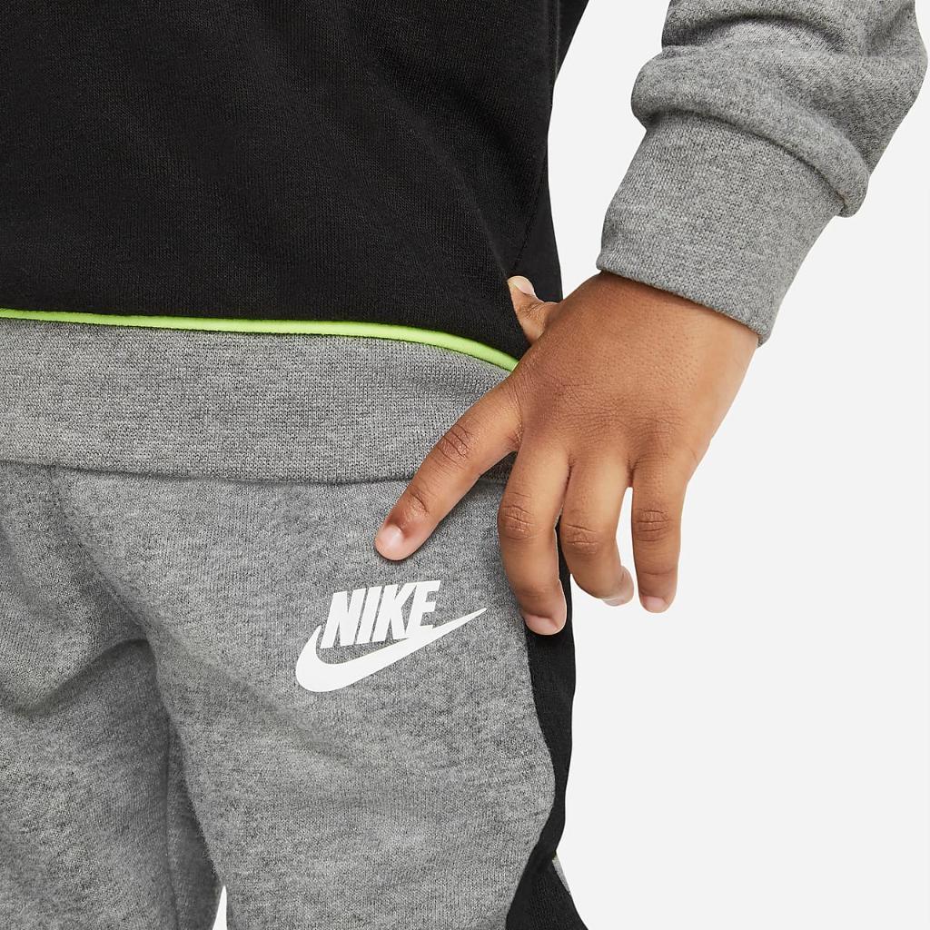 Nike Toddler Color-Block Crew and Joggers Set 76H470-GEH