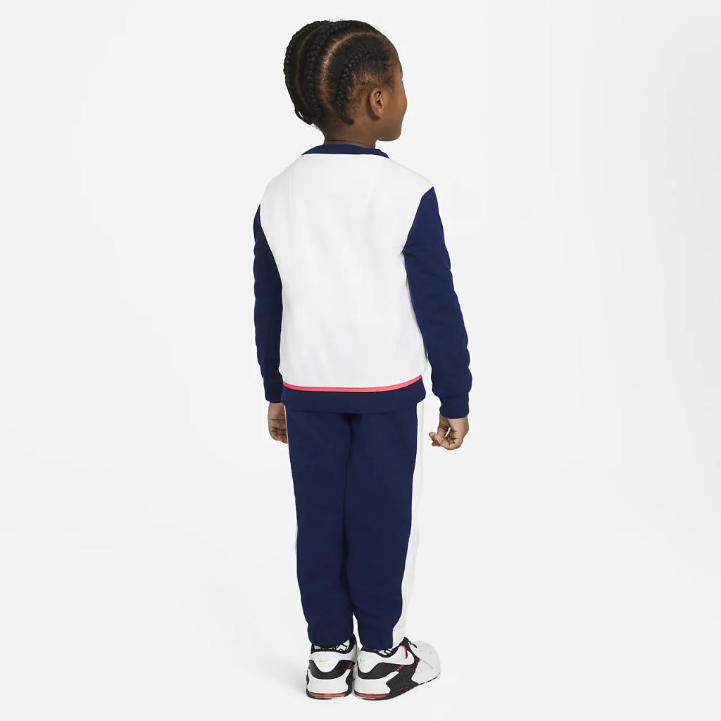 Nike Toddler Color-Block Crew and Joggers Set 76H470-U9J