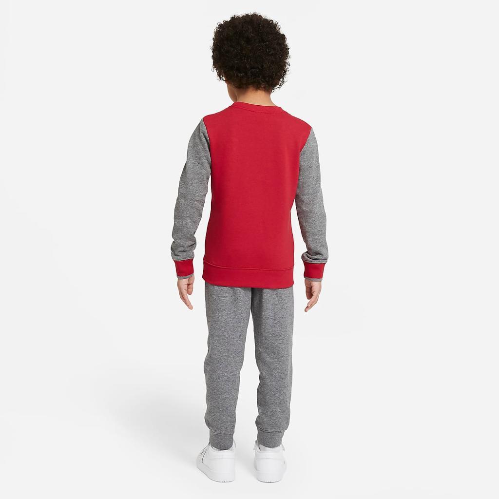 Jordan Jumpman Air Little Kids' Crew and Pants Set 85A356-GEH