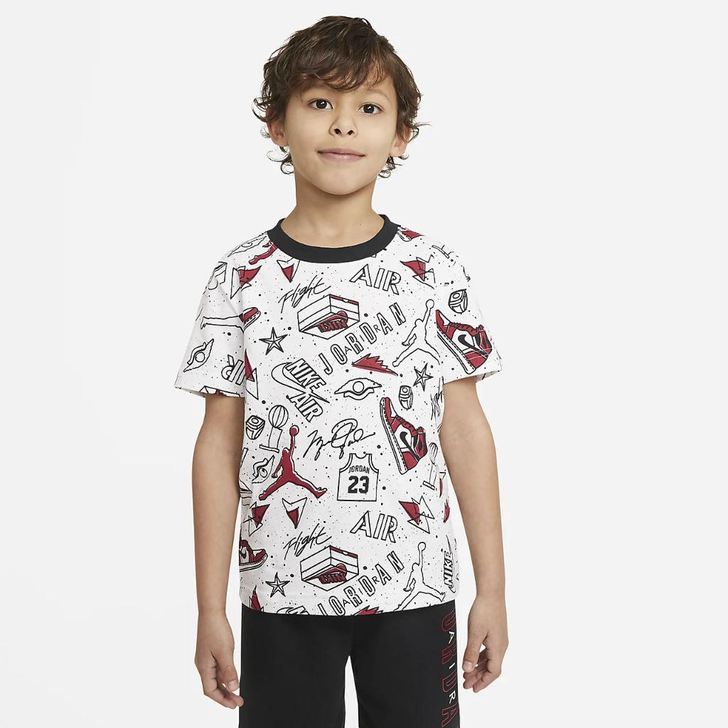 Jordan Little Kids' T-Shirt and Shorts Set 85A398-023