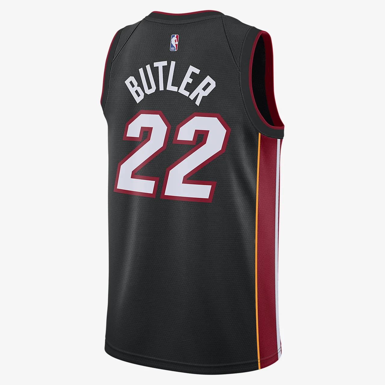 지미 버틀러 히트 아이콘 에디션 나이키 NBA 스윙맨 저지 864487-027