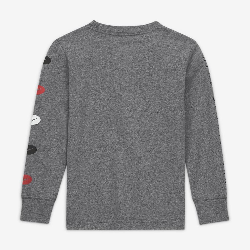 Nike Little Kids' Long-Sleeve T-Shirt 86G900-GEH