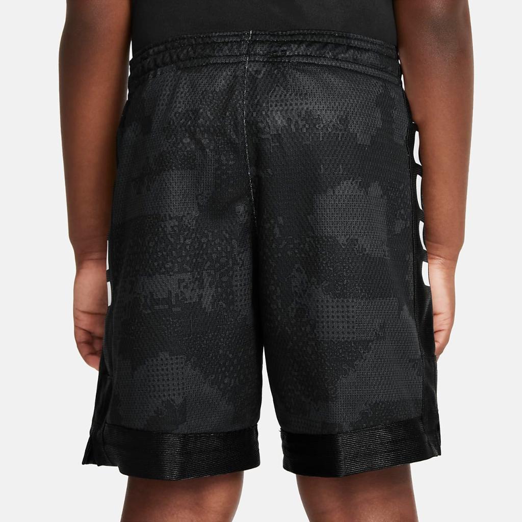 Nike Dri-FIT Elite Little Kids' Printed Shorts 86H352-023