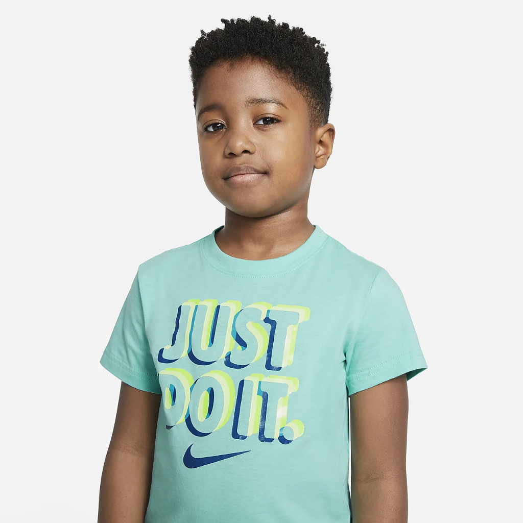 Nike Little Kids' T-Shirt and Joggers Set 86H372-023