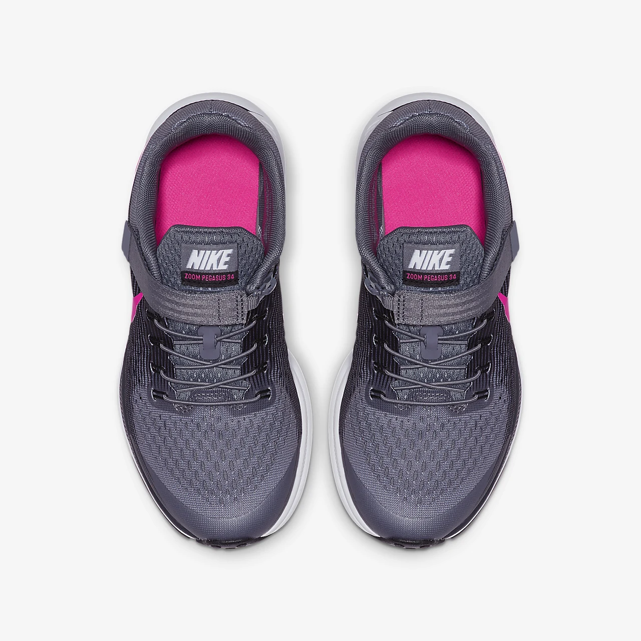 Nike Zoom Pegasus 34 FlyEase Little/Big Kids' Running Shoe 918019-003