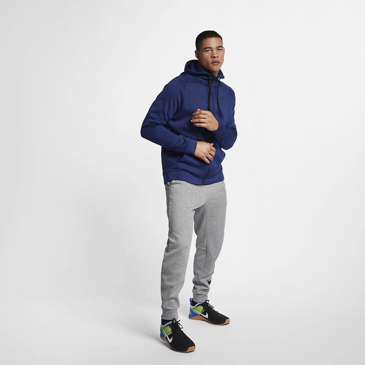 Nike Therma Men's Full-Zip Training Hoodie 931996-478