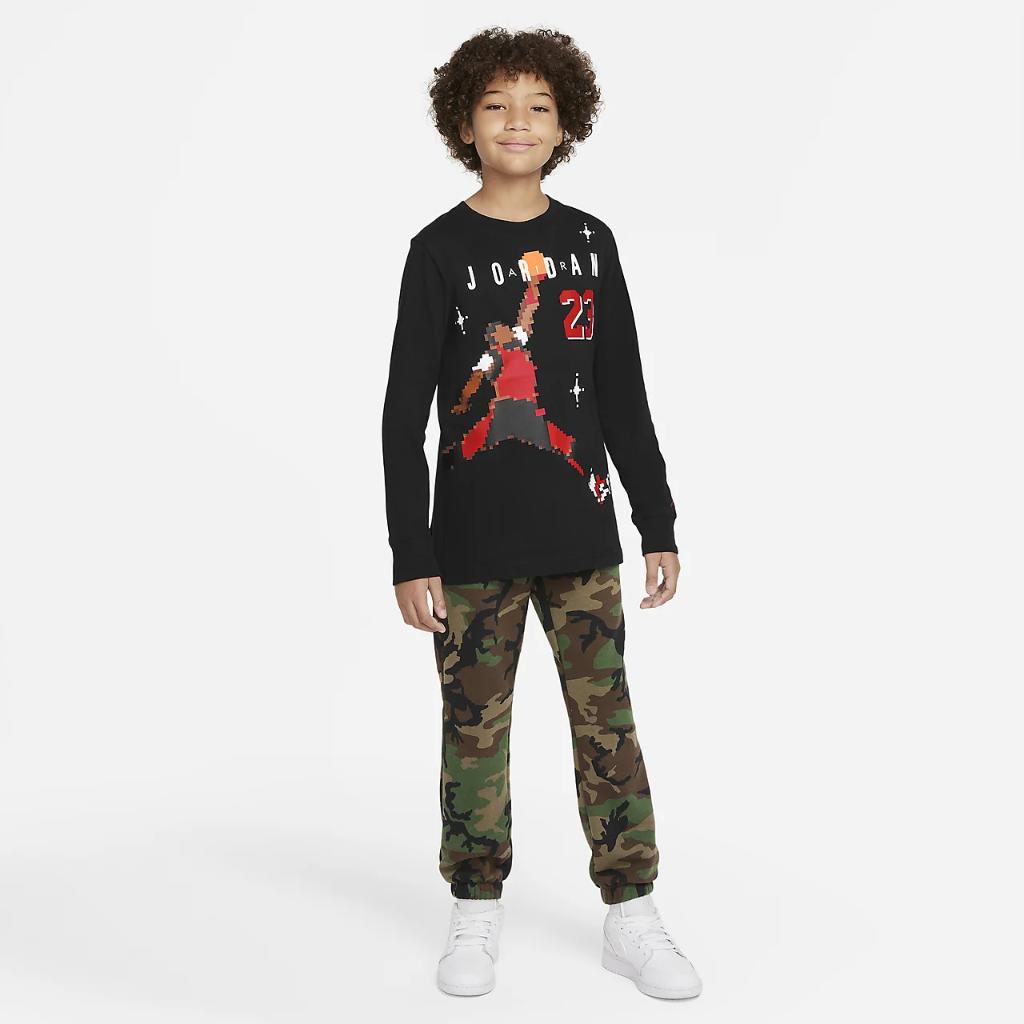 Jordan Big Kids' (Boys') Long-Sleeve T-Shirt 95A995-023