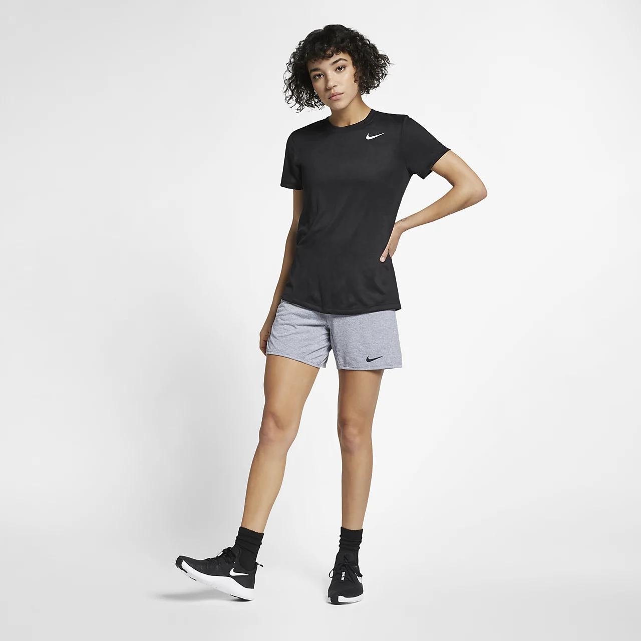 나이키 드라이핏 레전드 여성 트레이닝 티셔츠 AQ3210-010