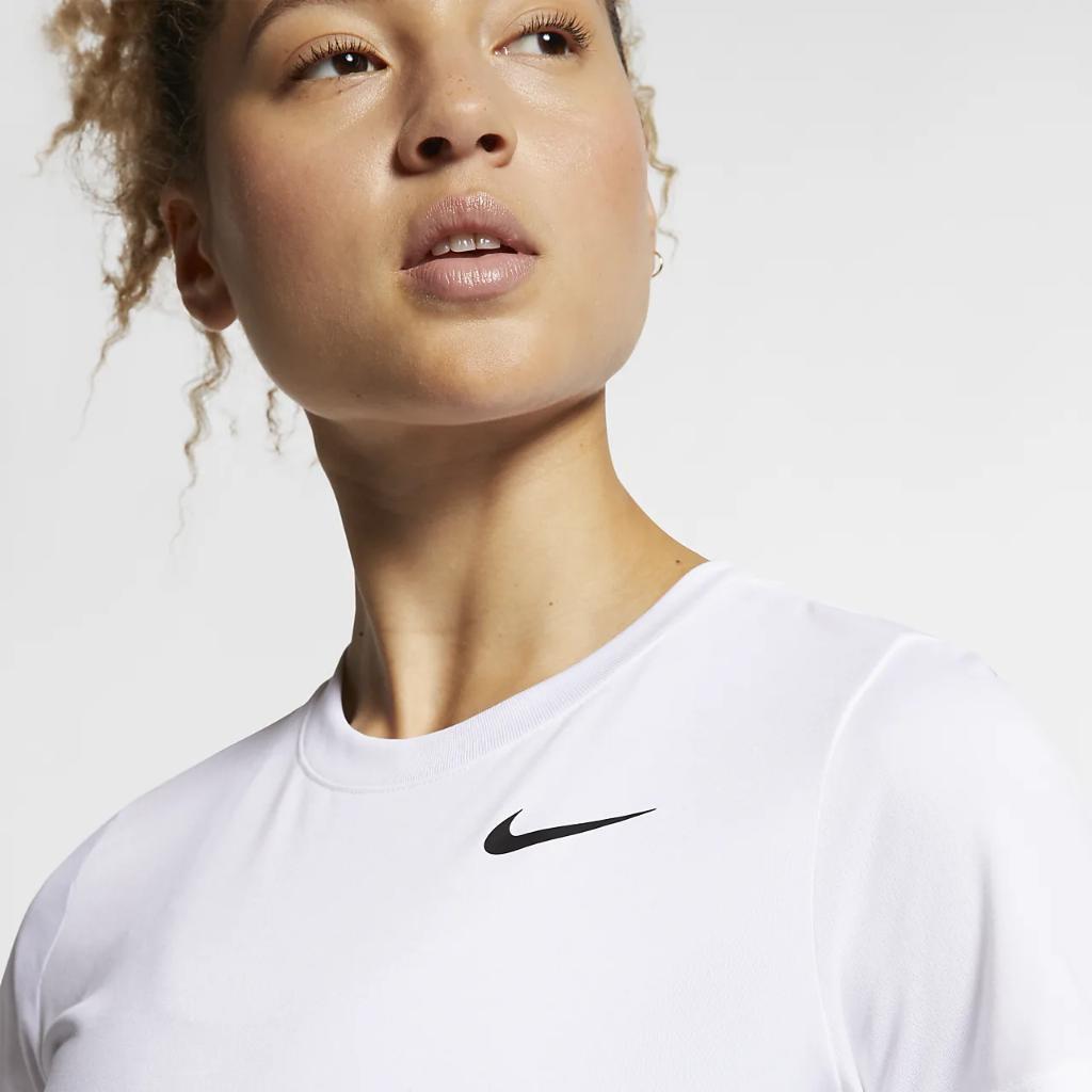 나이키 드라이핏 레전드 여성 트레이닝 티셔츠 AQ3210-100