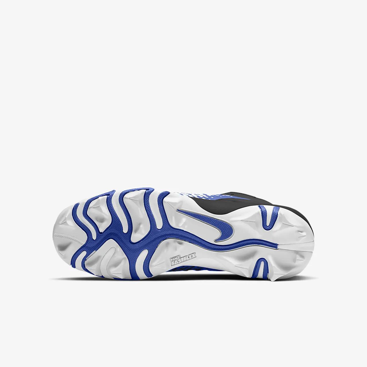 Nike Alpha Menace Shark 2 Little/Big Kids' Football Cleat AQ7654-402