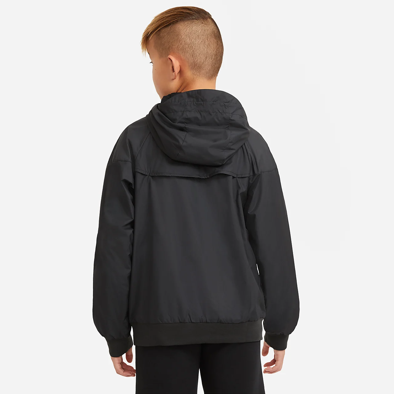 Nike Sportswear Windrunner Big Kids' (Boys') Hooded Jacket AQ8316-010