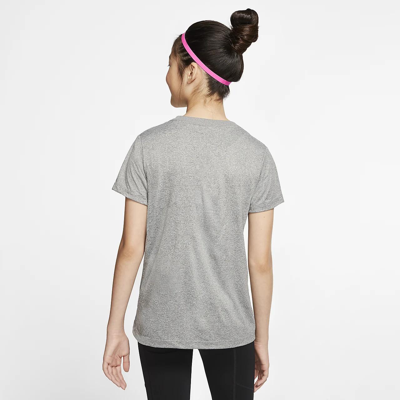 나이키 드라이핏 GS 스우시 트레이닝 티셔츠 AR5039-092