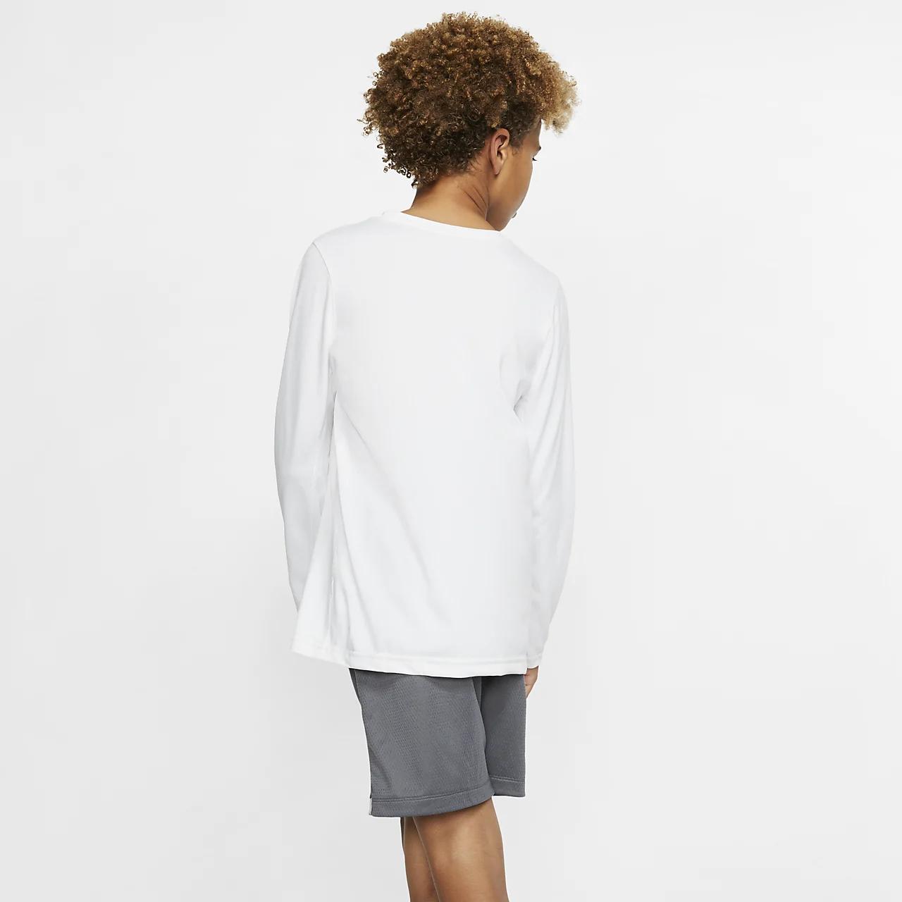 나이키 드라이핏 GS 긴팔 트레이닝 티셔츠 AR5313-100