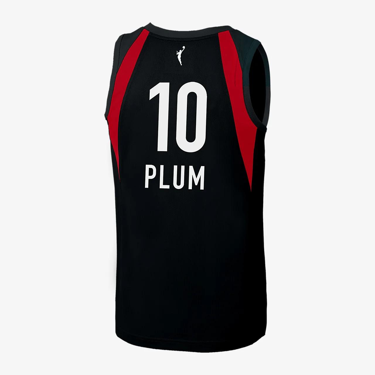 켈시 플럼 라스베이거스 나이키 WNBA 농구 저지 BBP32882-001