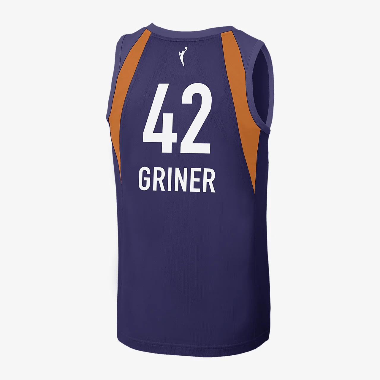 브리트니 그리너 피닉스 머큐리 나이키 WNBA 농구 저지 BBP32882-200