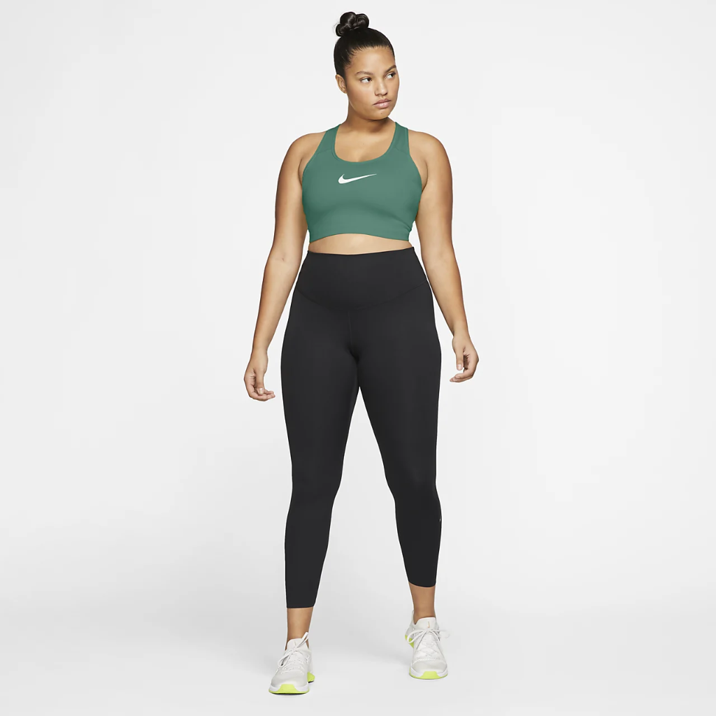 Nike Swoosh Women's Medium-Support Non-Padded Sports Bra (Plus Size) BQ0973-370