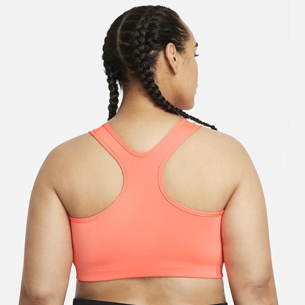 Nike Swoosh Women's Medium-Support Non-Padded Sports Bra (Plus Size) BQ0973-854