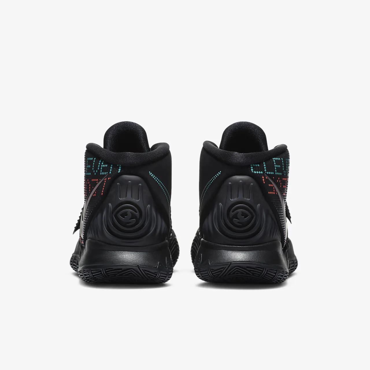 카이리 6 트리플 블랙 농구화 BQ4630-006
