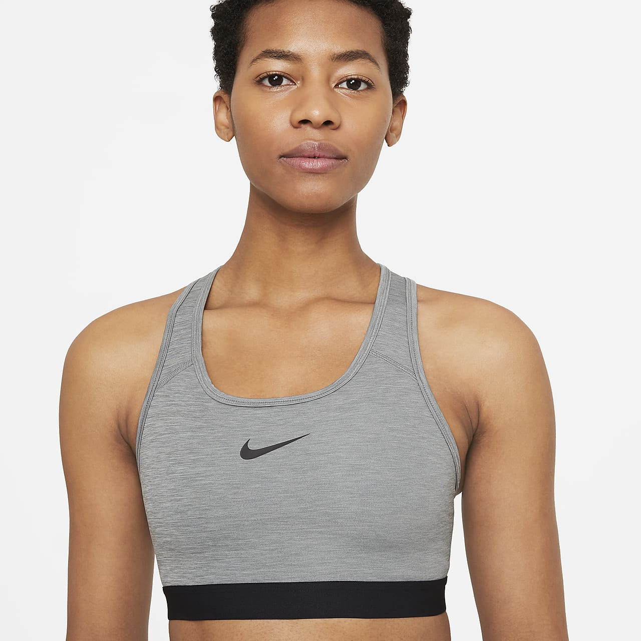 Nike Swoosh Women's Medium-Support 1-Piece Pad Sports Bra BV3902-084