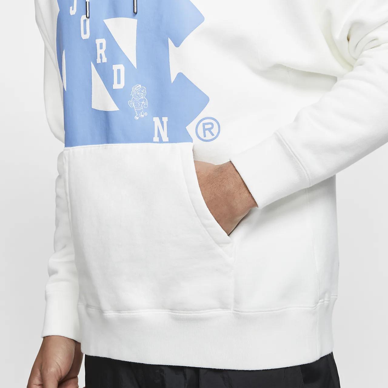 Jordan UNC Men's Pullover Hoodie BV3954-100