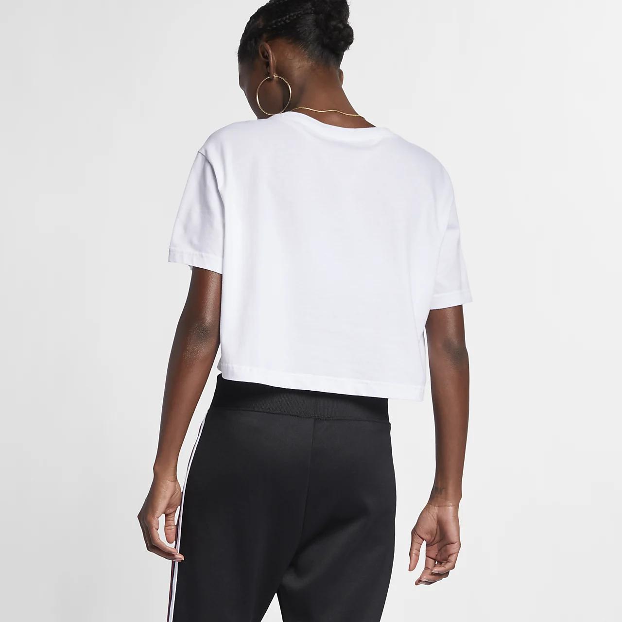 나이키 스포츠웨어 에센셜 여성 크롭 티셔츠 BV6175-100