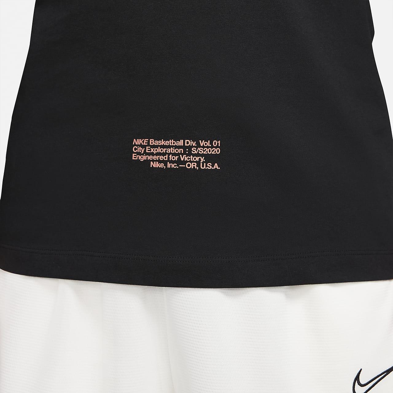 "Nike DNA ""City Exploration"" Men's Basketball Long-Sleeve T-Shirt CD1095-010"