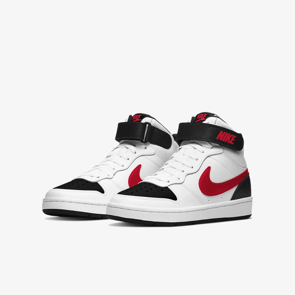 Nike Court Borough Mid 2 Big Kids' Shoe CD7782-110