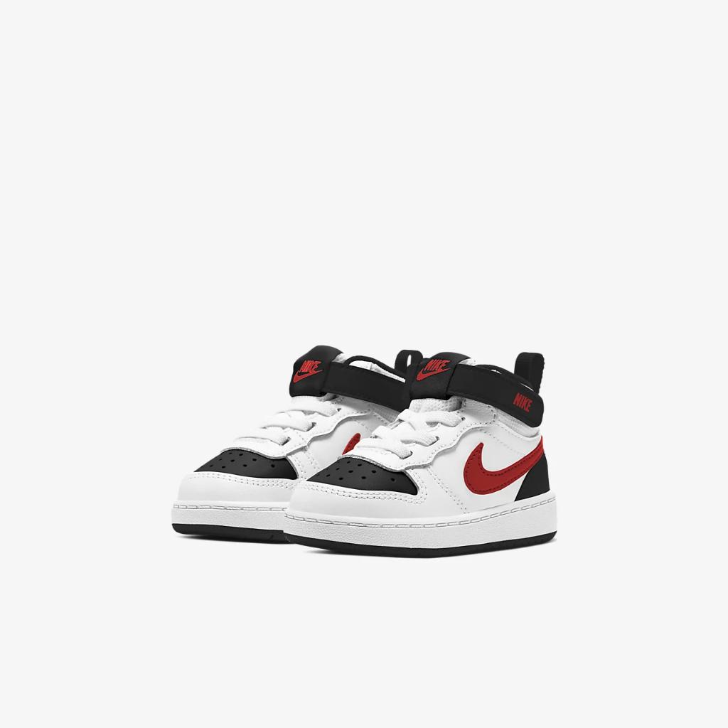 Nike Court Borough Mid 2 Baby/Toddler Shoe CD7784-110