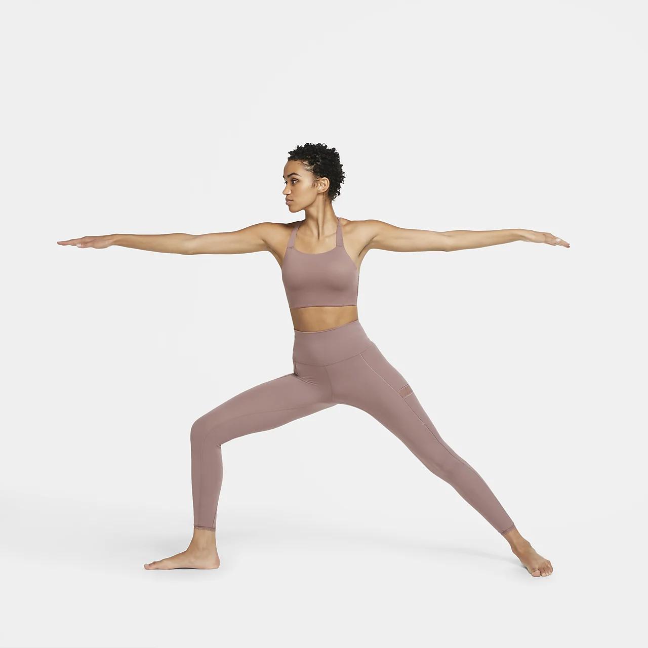 Nike Swoosh Luxe Women's Medium-Support Sports Bra CJ0544-298
