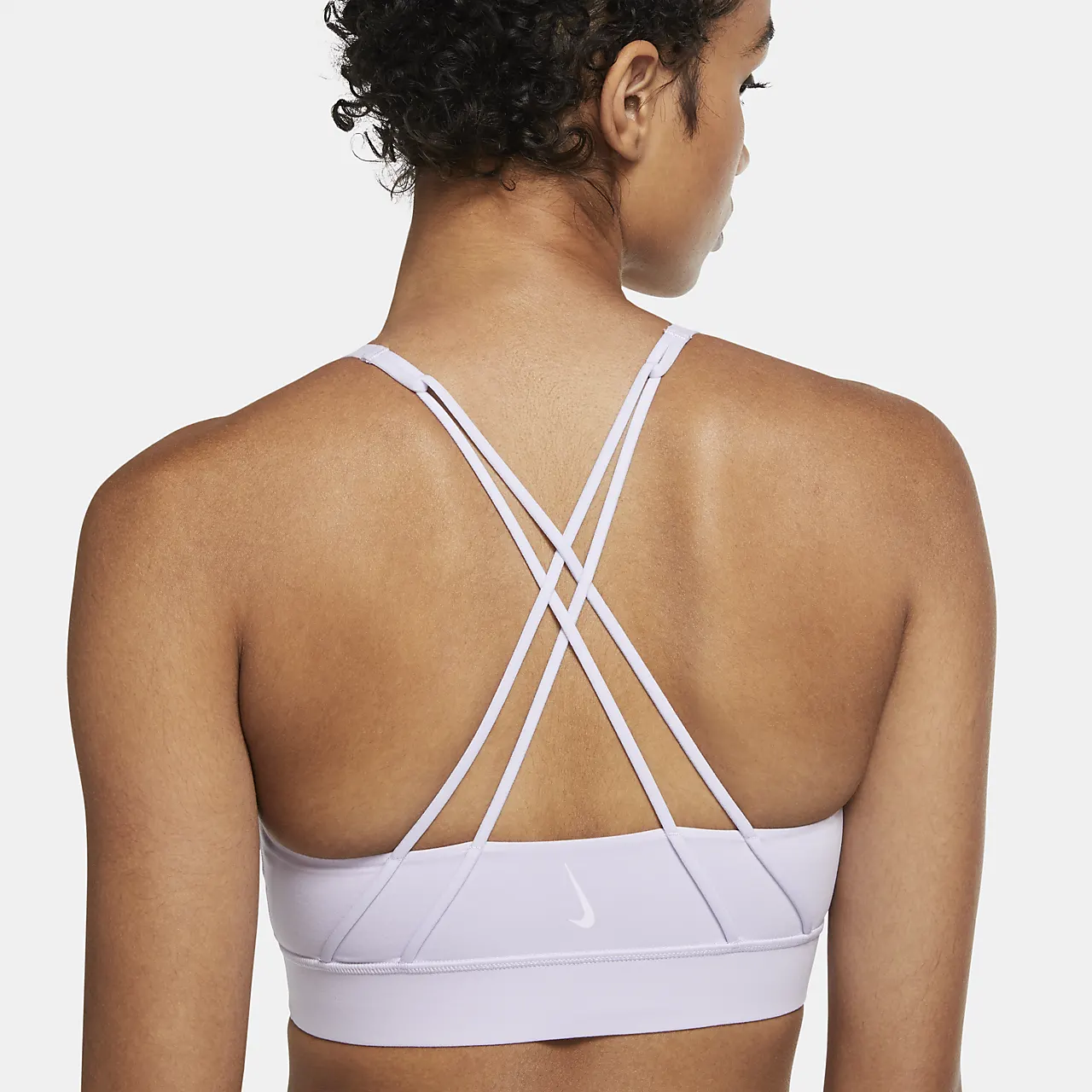 Nike Swoosh Luxe Women's Medium-Support Sports Bra CJ0544-555