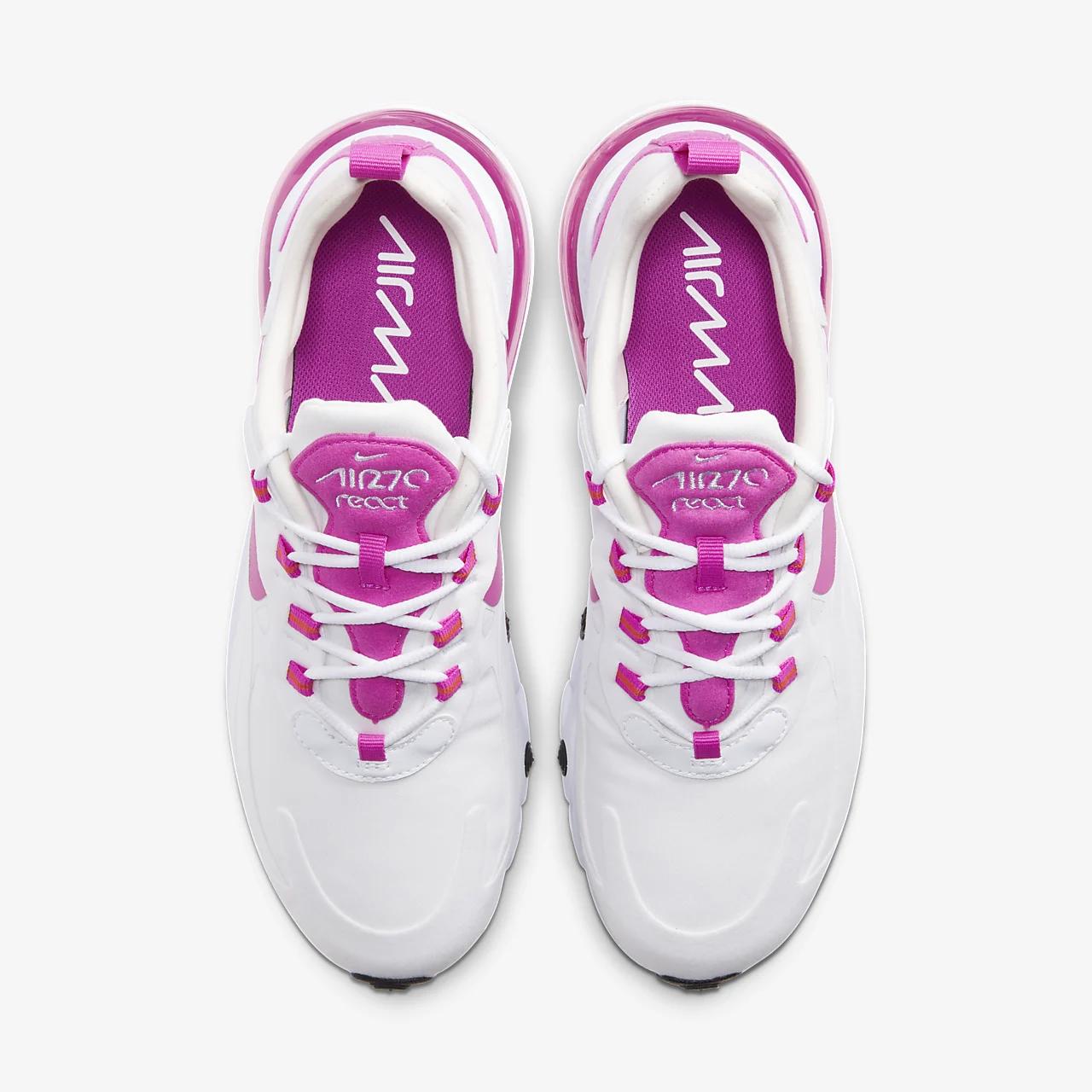 나이키 에어 맥스 270 리액트 여성 신발 CJ0619-100