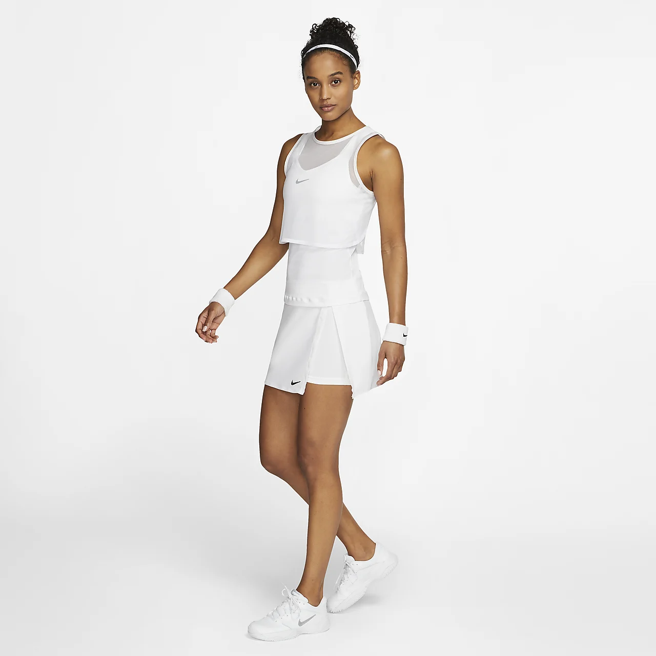 나이키코트 드라이-핏 여자 테니스 스커트 CJ0944-100
