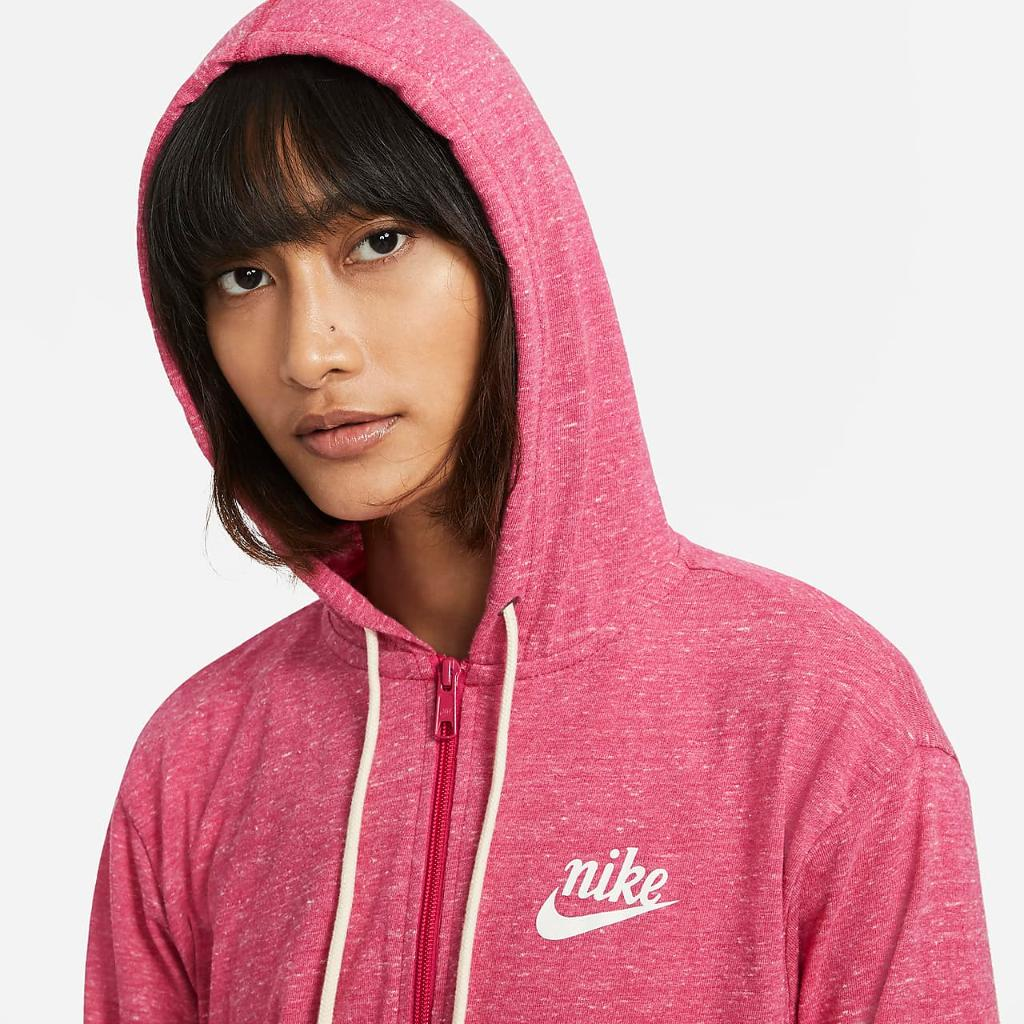 Nike Sportswear Gym Vintage Women's Full-Zip Hoodie CJ1694-615