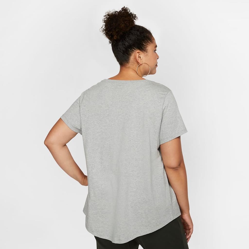나이키 스포츠웨어 필수 여성 티셔츠(플러스 사이즈) CJ2301-063