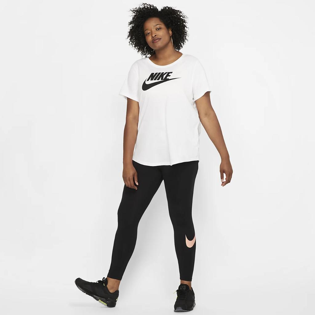 나이키 스포츠웨어 필수 여성 티셔츠(플러스 사이즈) CJ2301-100