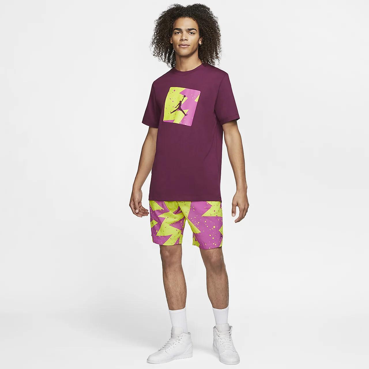 조던 풀사이드 남성 티셔츠 CJ6244-610