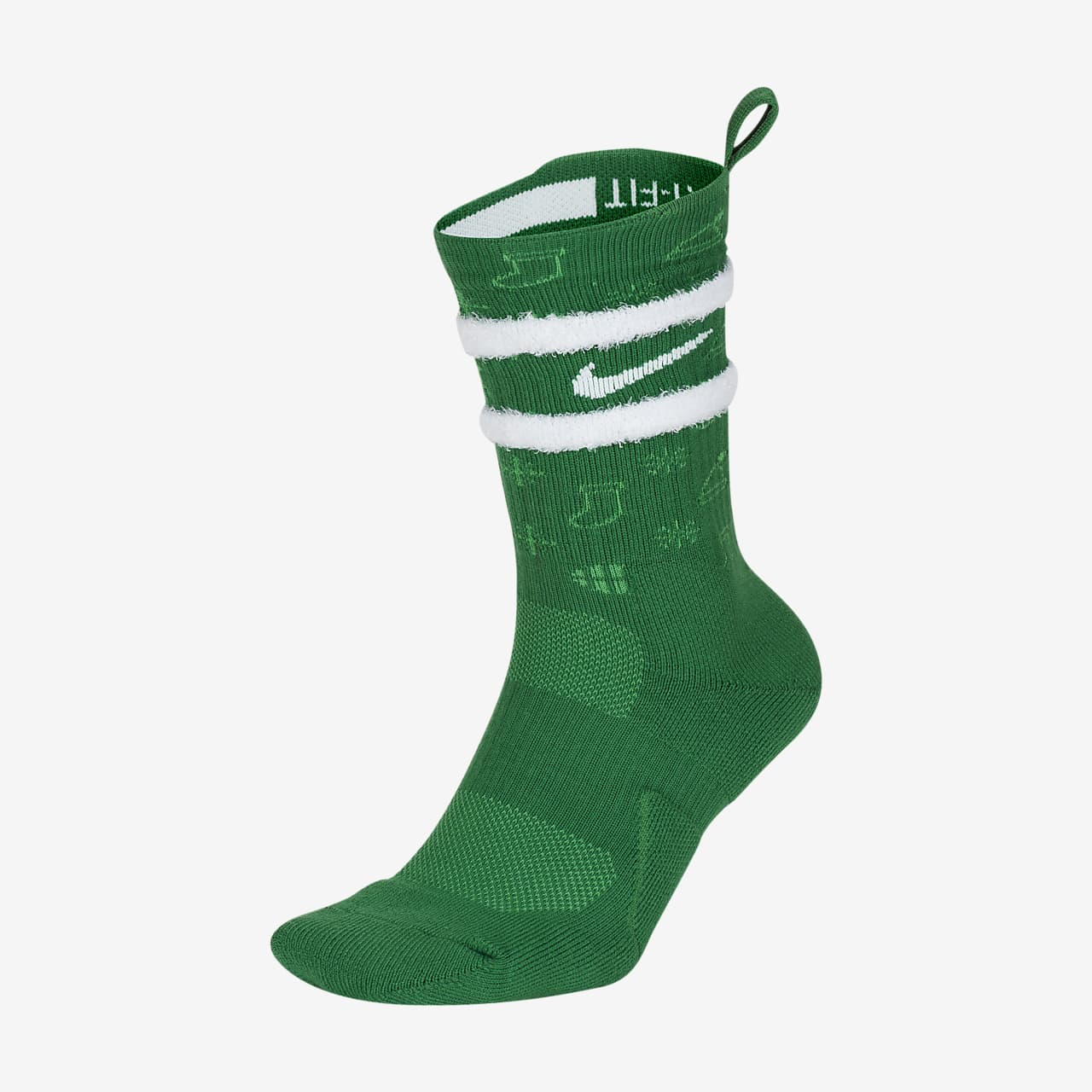 Nike Elite Crew 'Xmas' Basketball Socks CK6786-312