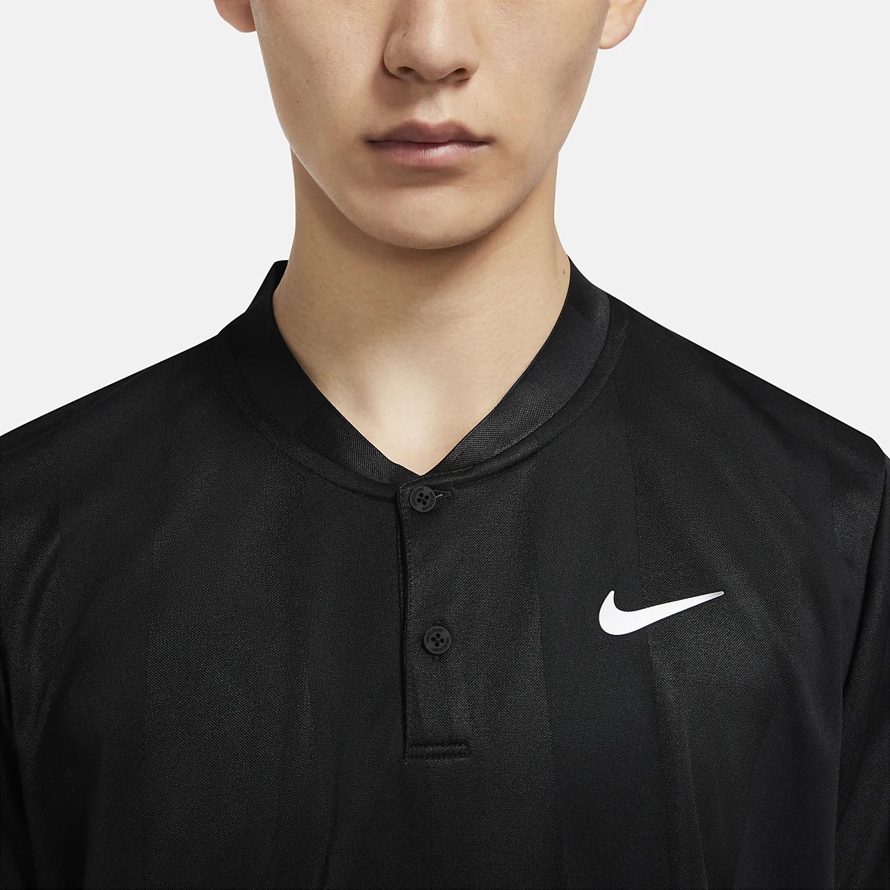 나이키 코트 드라이핏 남자 프린트 테니스 폴로 CK9791-010