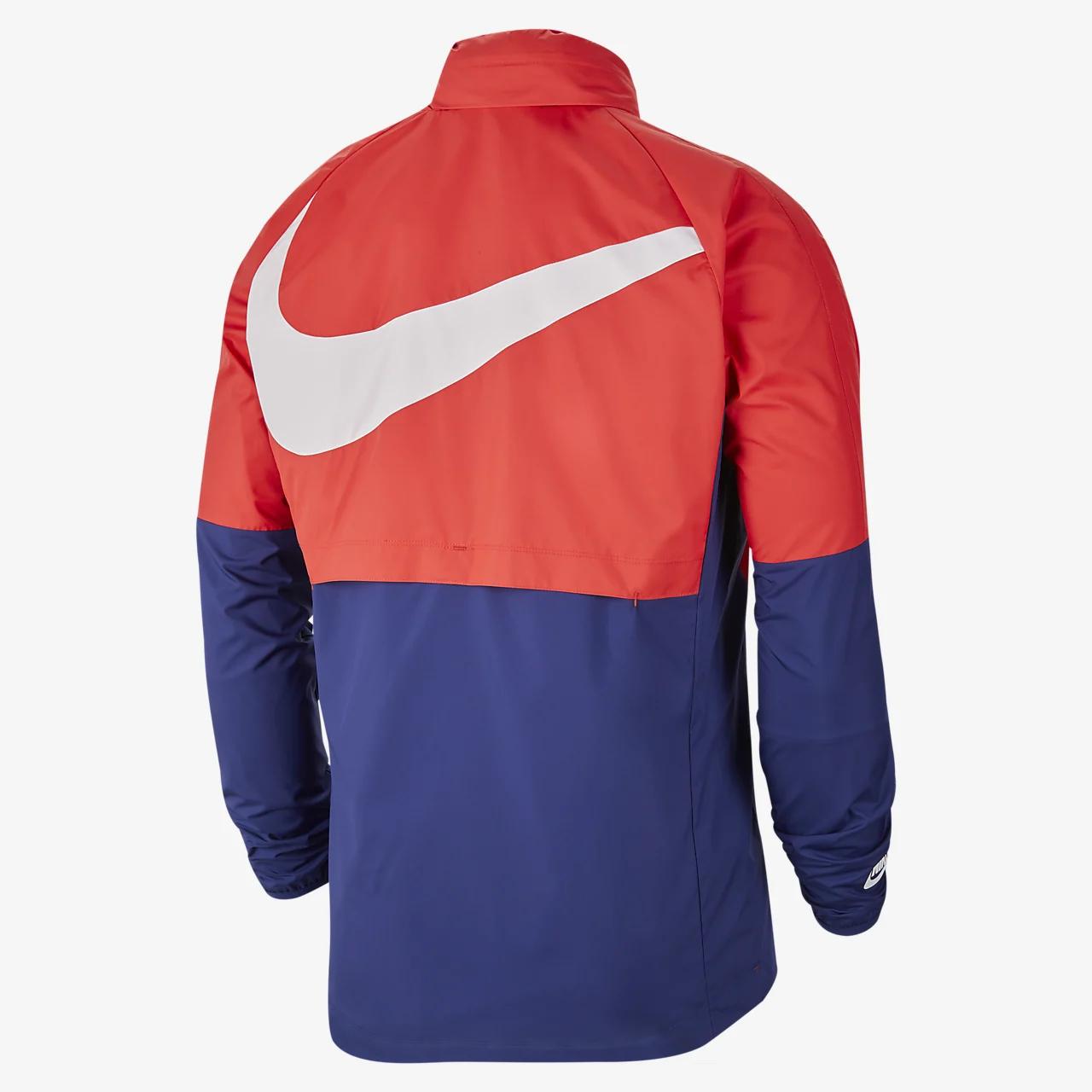 미국 남자 워터-리펠런트 축구 재킷 CN7075-688